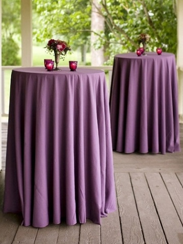 Claret Cotton Blend Ps Event Rentals