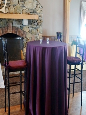 Purple Cotton Blend Ps Event Rentals