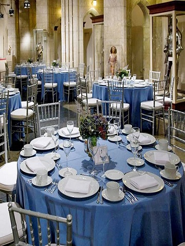 Periwinkle Matte Satin Ps Event Rentals