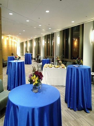Royal Blue Bengaline Ps Event Rentals