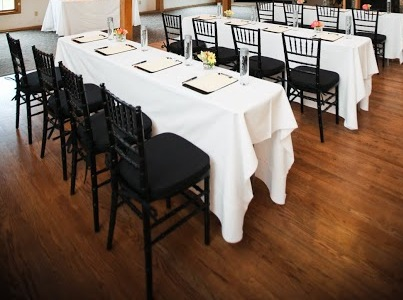 White Cotton Blend Ps Event Rentals