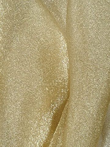 Gold Sparkle Organza Sash Ps Event Rentals