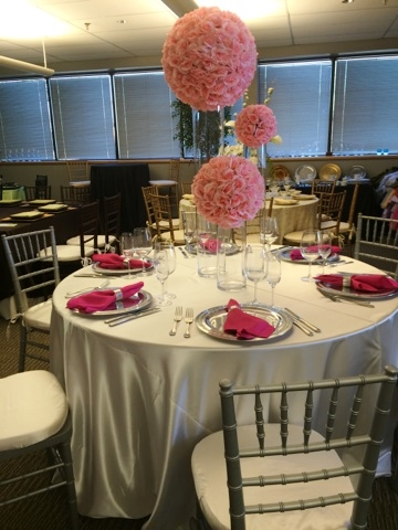 Ivory Poly Satin Ps Event Rentals