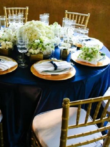 Royal Blue Poly Satin Ps Event Rentals