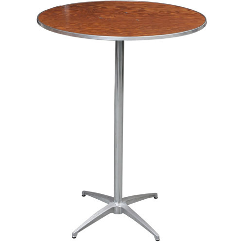 36 Round High Tail Table